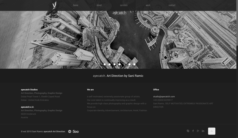 ayecatch Studios Dubai - Sani Ramic 2