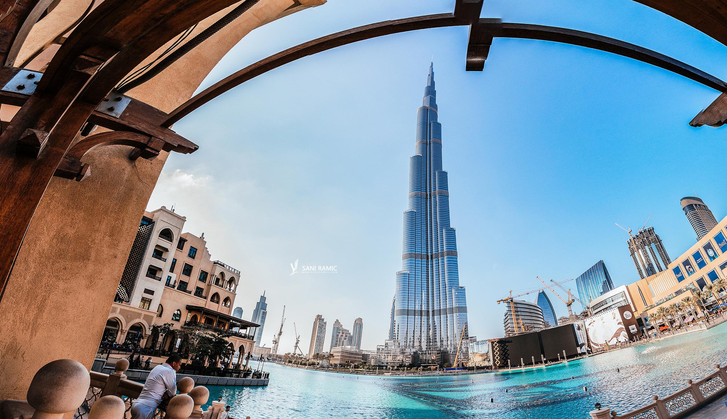 Burj Khalifa, Dubai Fountain & Mall