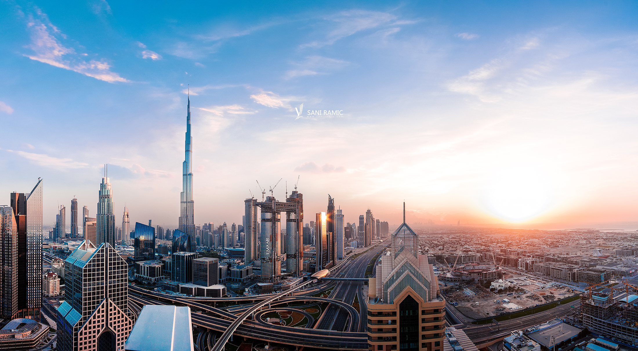 Dubai Beautiful Cityscape