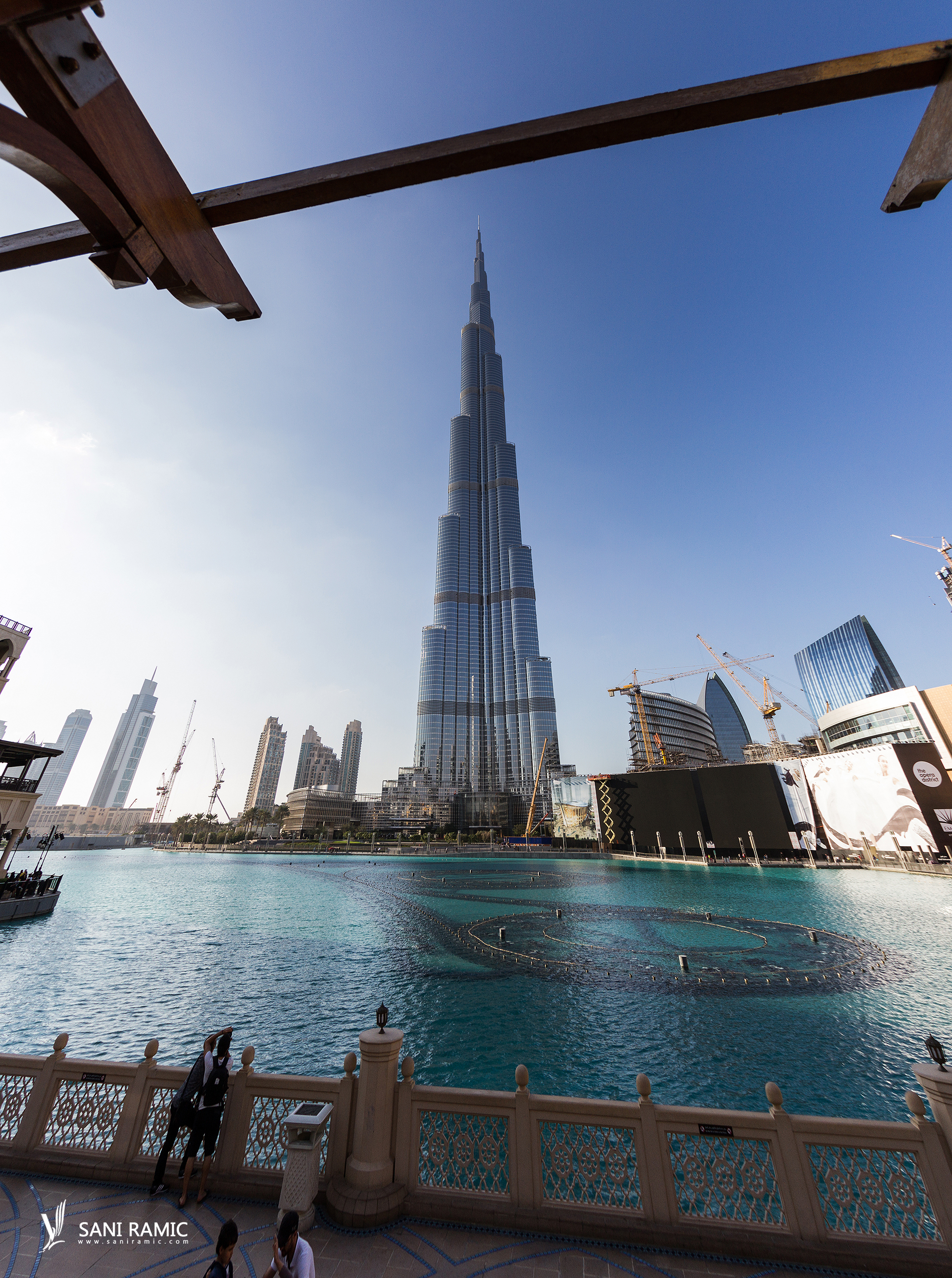 Burj Khalifa The Center of now