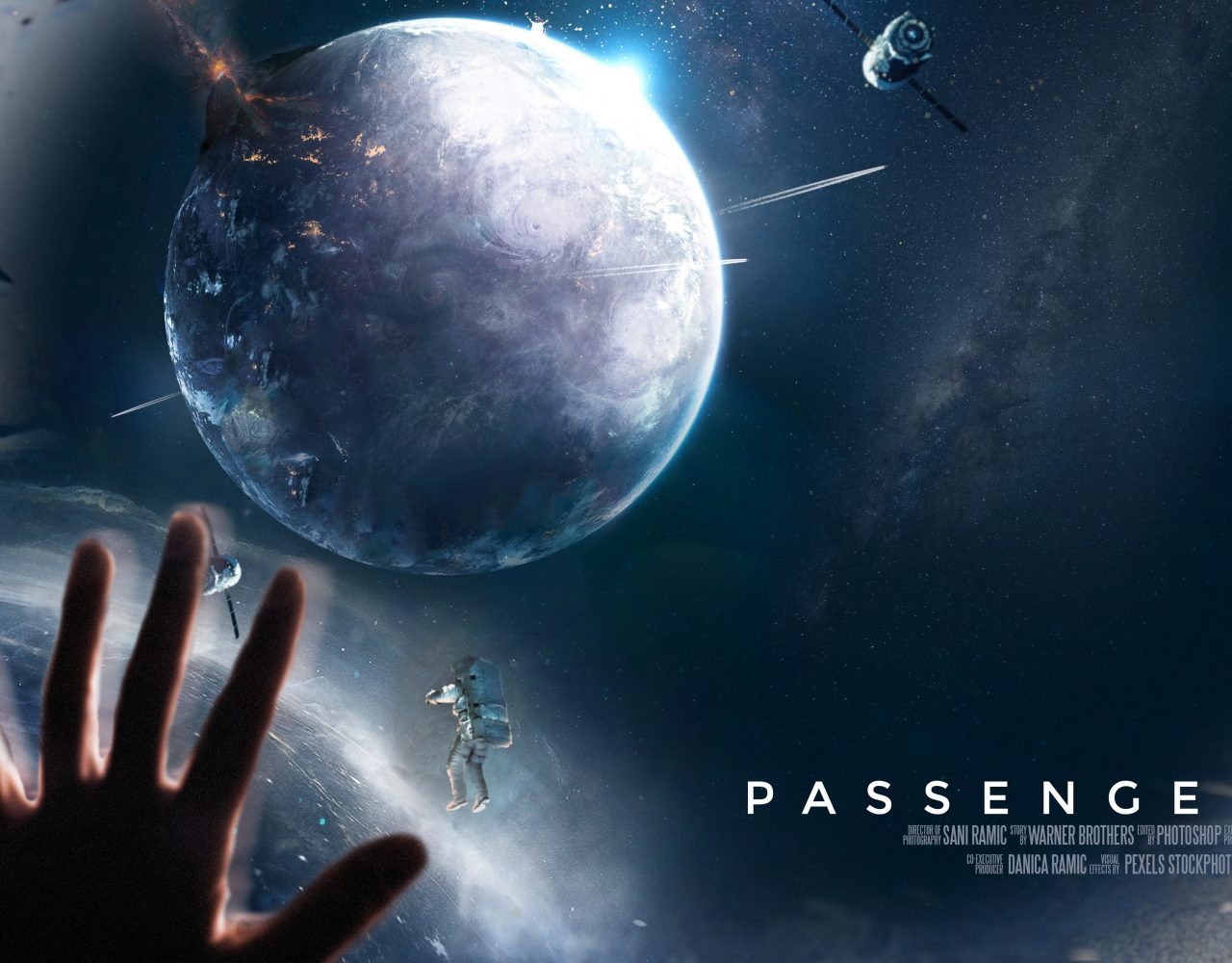 Graphic Design Photo Retouch Manipulation PASSENGERS Film Movie