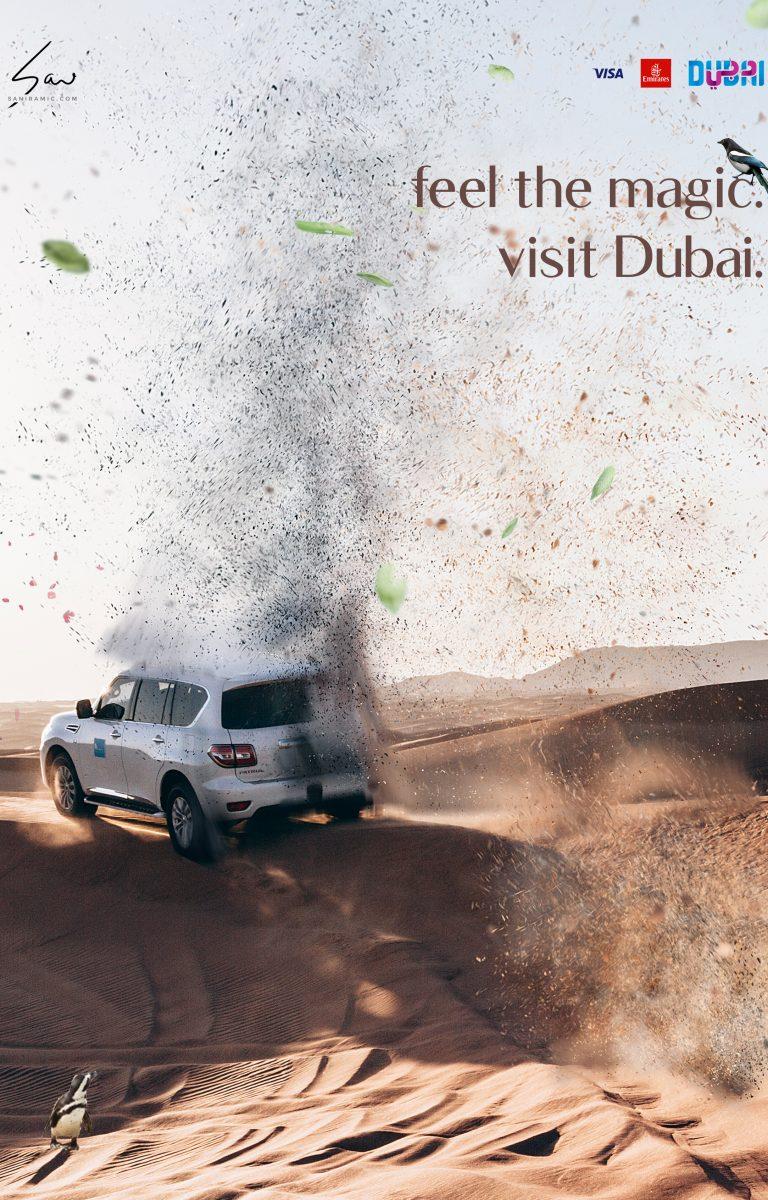 feel the magic - visit Dubai.